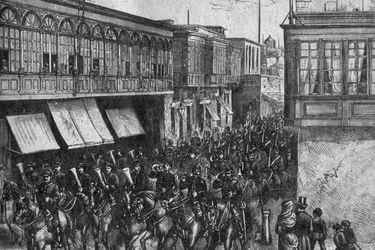 Libros, trenes y leones: historia de la polémica ocupación chilena de Lima