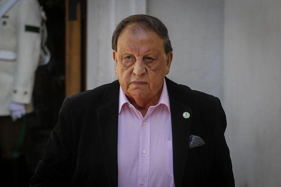 Presidente de la Confederación Nacional del Transporte de Carga de Chile (CNTC), Sergio Pérez.