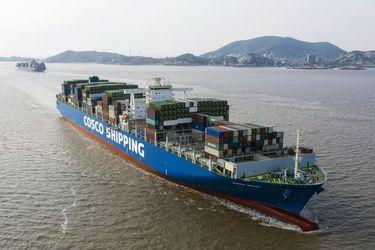 Las tarifas de contenedores de Asia a Europa suben a un máximo de 10 años