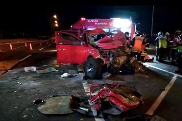 Sujeto muere al chocar con camión militar al tratar de evadir control sanitario