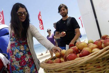 """VIÑA DEL MAR: Programa gubernamental """"Chile te cuida"""" en playa Los Marineros"""