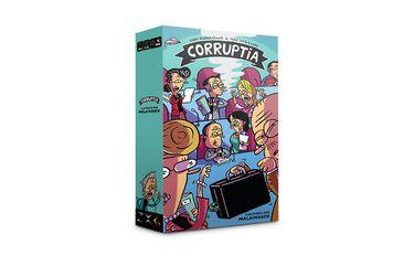 Así es Corruptia, el nuevo juego de mesa que se ríe de la política