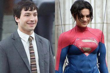 Barry Allen, Supergirl y el Bruce Wayne de Michael Keaton aparecen en las nuevas fotos del rodaje de la película de The Flash