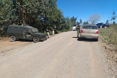 Patrullaje mixto de Carabineros, PDI y Ejército detuvo a dos hombres en Ercilla