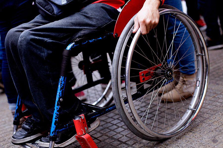 Silla de ruedas, discapacidad