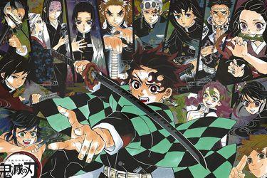 Demon Slayer se convierte en el primer manga en ocupar cada uno de los puestos en el Top 20 de ventas de Oricon