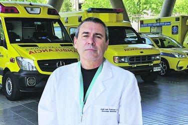 """José Luis Troncoso, vicepresidente del cuerpo médico de la Clínica Las Condes: """"No estamos ni en guerra ni en punto muerto, vamos a seguir intentado el diálogo"""""""