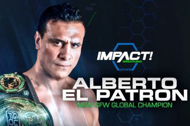 Global Force Wrestling suspende a Alberto el Patrón de manera indefinida