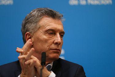Mauricio Macri, presidente de Argentina. Foto: Reuters.