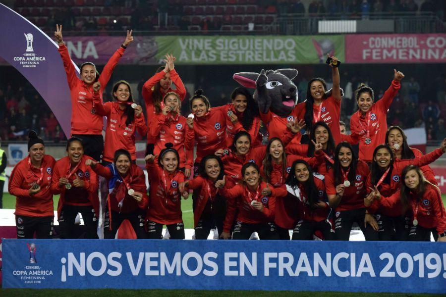Chile, La Roja, Copa América