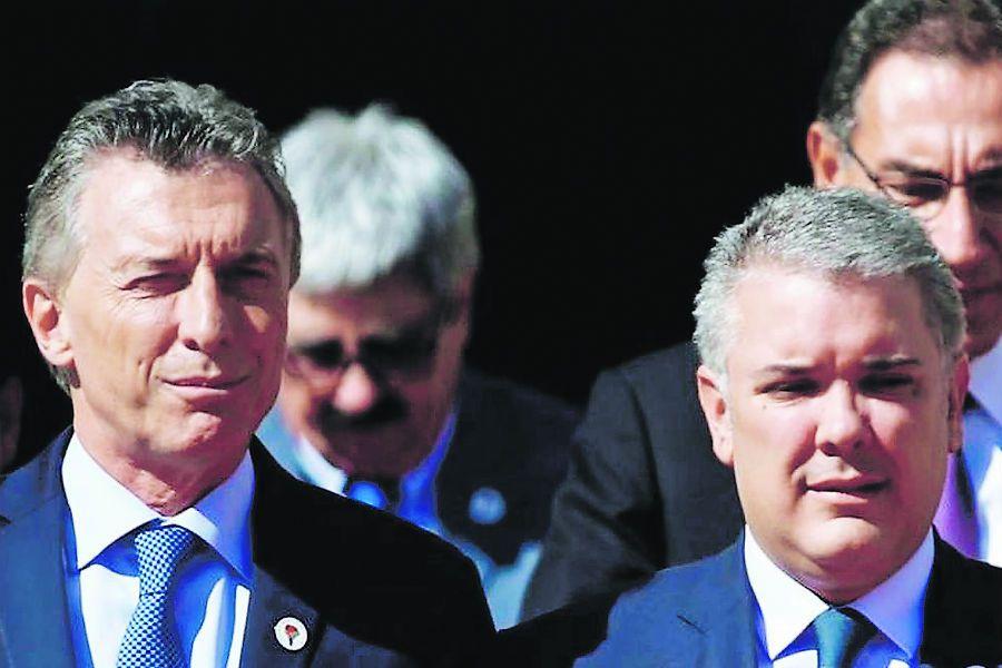 Imagen mauricio-macri-ivan-duque-jair-bolsonaro REUTERS
