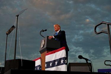 """En campaña por todo el país, Trump se burla de Joe Biden por no salir """"nunca"""" a eventos con sus votantes"""
