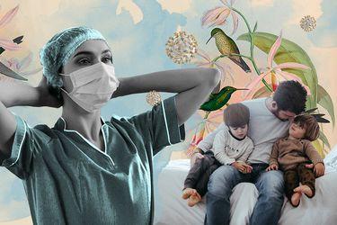 """Enfermera a un año de la pandemia: """"El Covid-19 me arrebató sin piedad, al igual que a muchos, mi amada forma de vida"""""""