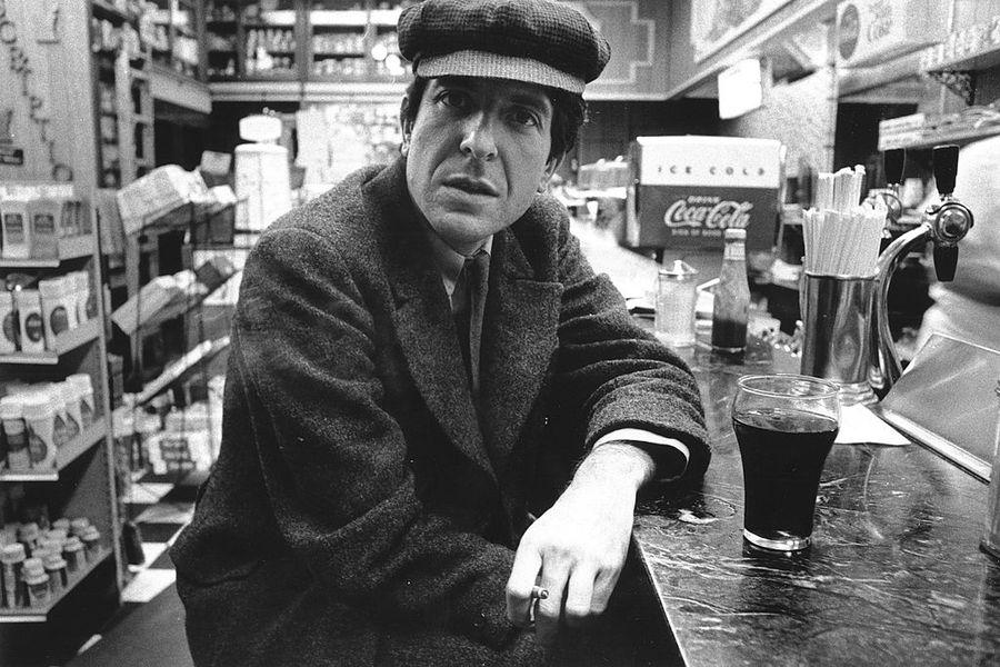 Singer-songwriter Leonard Cohen Poses For Portrait