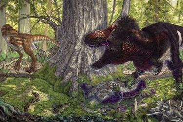 Tiranosaurio Rex dominó el planeta e hizo desaparecer a depredadores medios