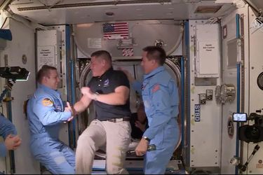 SpaceX: Esta tarde amarizará en el Golfo de México la nave que trae de vuelta a los dos astronautas de la NASA