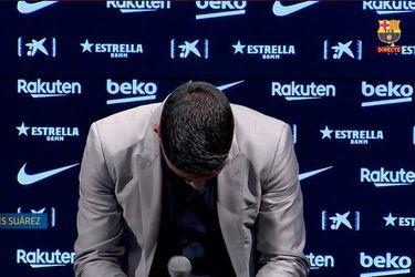 """Luis Suárez llora en el adiós: """"No he digerido la despedida; no me imagino jugar contra el Barça"""""""