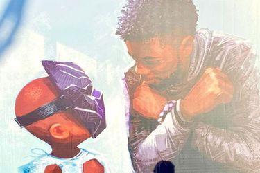 Disney homenajeó a Chadwick Boseman con un emotivo mural