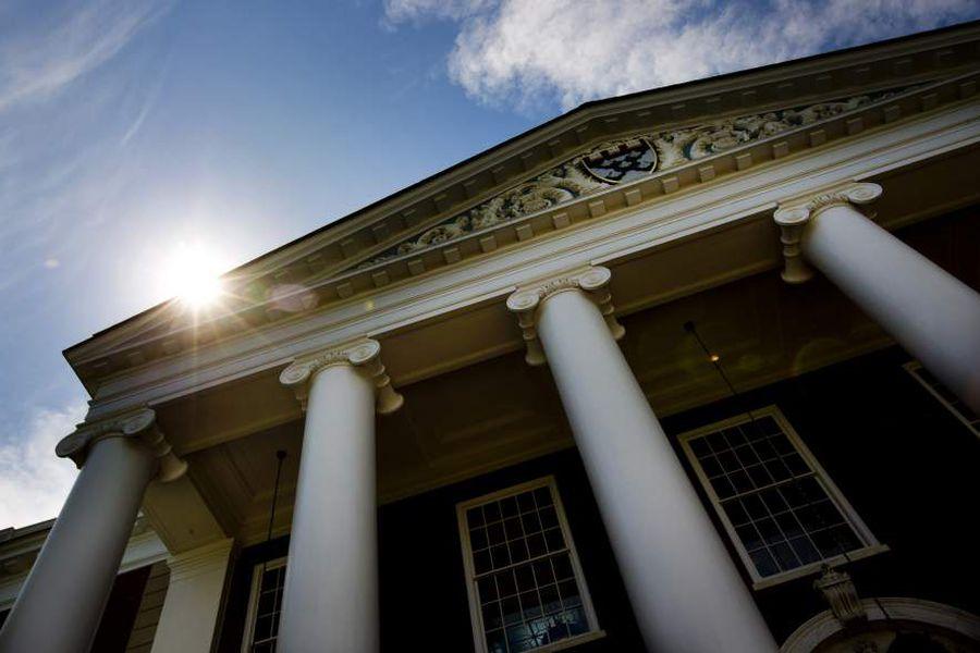 General Views Of Harvard University