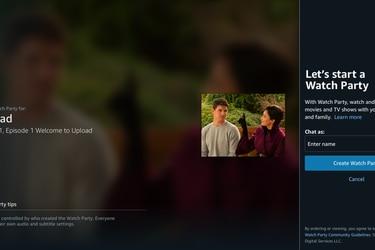 Amazon Prime Video lanzará una herramienta para ver contenido en reuniones virtuales con otras personas