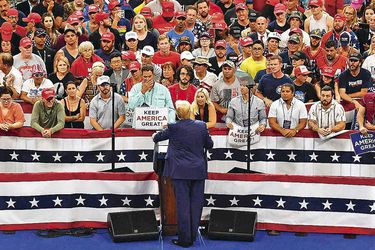 TOPSHOTS-Trump--expected-to-formally-declare-re-election-bid-at-rally-(45948483)