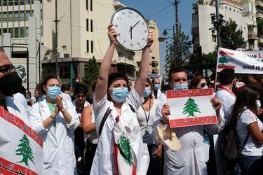 Un año después de la explosión que sacudió el puerto de Beirut en imágenes