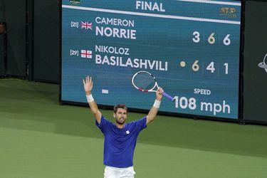 Cameron Norrie se corona campeón de Indian Wells