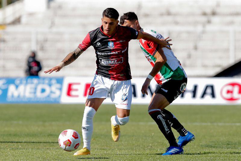 Deportes Antofagasta derrotó a Palestino, en la primera fecha del torneo. A esa altura, los pumas ya estaban vacunados contra la Covid-19.
