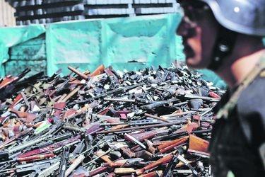 ¿Defensa personal? Ingreso de armas de fuego al país se duplicó en la última década; pistolas son las que más entraron