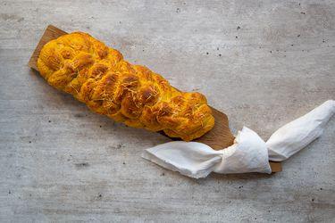 Aprende a hacer un pan trenzado de zapallo y queso con las creadoras de Clementina