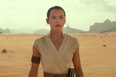 Rey, Leia y Lando se toman el tráiler de Star Wars episodio IX: The rise of Skywalker