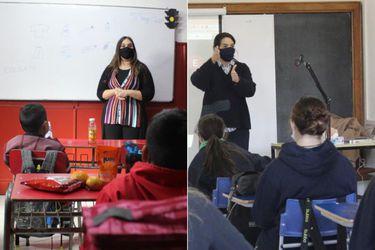 Iguales en las diferencias: un día de clases presenciales en Independencia y Vitacura