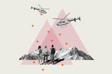 Mamás y papás helicópteros: Pecar de más que de menos