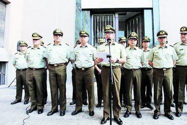 Generales entregan respuesta a Contraloría para rebatir sumario