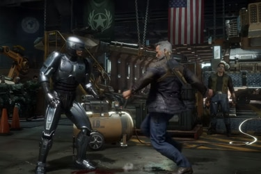 Llegó la hora del enfrentamiento entre Terminator y Robocop de la mano de Mortal Kombat 11: Aftermath