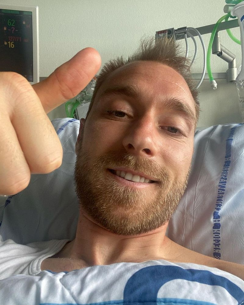 Christian Ericksen deberá ser operado para implantarle un desfibrilador automático.