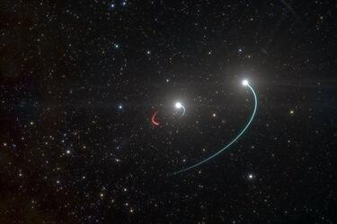 """Descubren desde Chile el agujero negro más cercano a la Tierra: Está a """"sólo"""" mil años luz de distancia"""