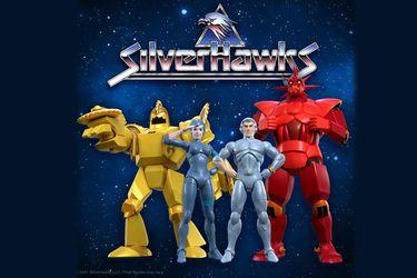 Son de plata y de acero: Silverhawks lanza sus nuevas figuras de acción