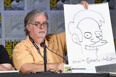 Matt Groening defiende las temporadas mas recientes de Los Simpson y se refirió al futuro de Apu