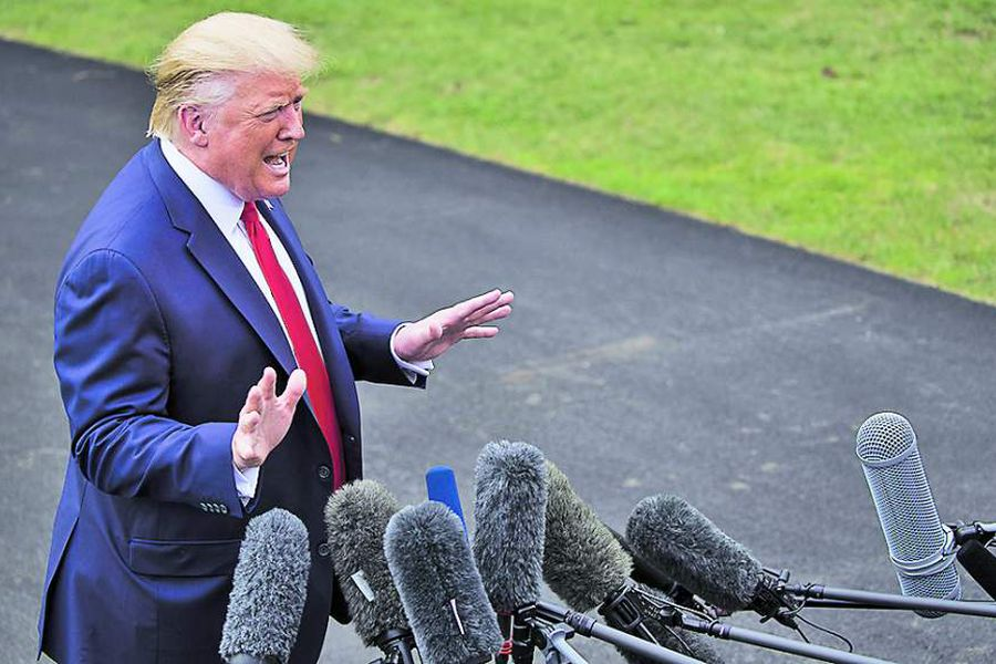 Donald Trump, presidente de Estados Unidos, está ad portas de enfrentar un juicio político.