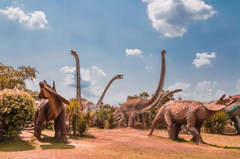 Dinosaurios de hace 70 millones de años