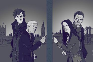 Entre Sherlock y Elementary... no hay comparación
