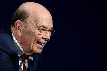 US Commerce Secretary Wilbur Ross attends the annual World Economic F