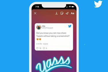 Adiós pantallazos: La app de Twitter para iOS permitirá compartir tweets directamente en las historias de Instagram