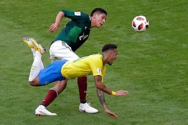 Neymar, Edson Álvarez, México, Brasil