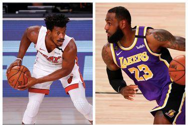 El frente a frente para las primeras finales entre Heat y Lakers
