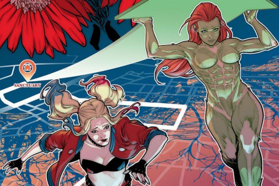 Harley Quinn Poison Ivy