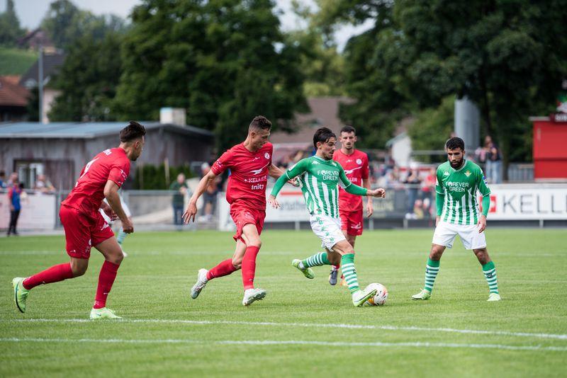 El Real Betis de Manuel Pellegrini derrotó por 4-0 al Winterthur FC en el primer amistoso de la pretemporada.