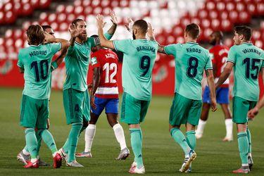 El Madrid sufre, supera otra valla y puede ser campeón el jueves