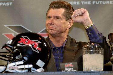 La XFL de Vince McMahon nuevamente fracasó y entró en un proceso de bancarrota